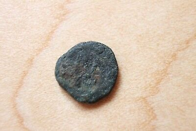 Unidentified Roman Or Greek Empire Bronze Ancient Coin   C-28