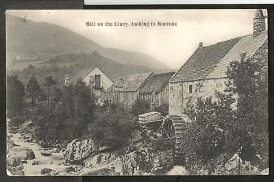 JXG 1906 Postcard, Water Mill on the Cluny, Looking to Morrone