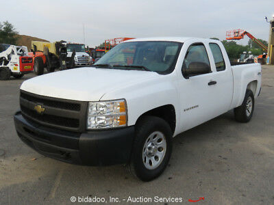 Chevrolet 1500  2011 Chevrolet 1500 4x4 Silverado Extended Cab Cold AC Power Windows Locks 4WD