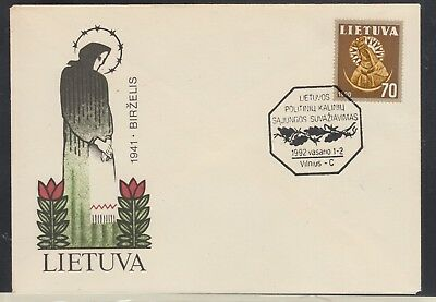 LATVIA 1992 Special Cover in Perfect Condition...
