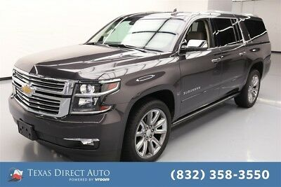 Chevrolet Suburban LTZ Texas Direct Auto 2016 LTZ Used 5.3L V8 16V Automatic 4WD SUV Moonroof Bose