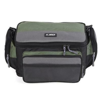 Fishing Bag Shoulder Pack Storage Box Travel Pouch Hunting Fishing Lure Durable