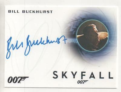 "James Bond: Skyfall Auto Card No.A256 Bill Buckhurst ""Ronson"""