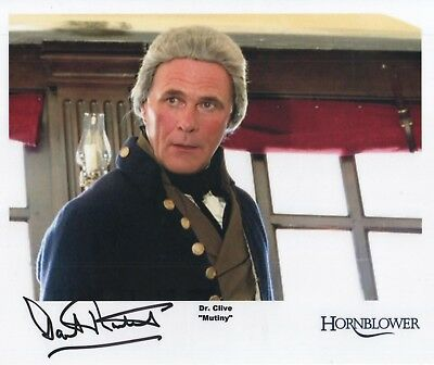 "Hornblower Auto Photo Print David Rintoul ""Dr. Clive"""