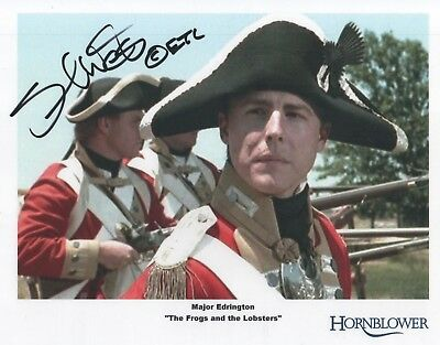 "Hornblower Auto Photo Print Samuel West ""Major Edrington"""