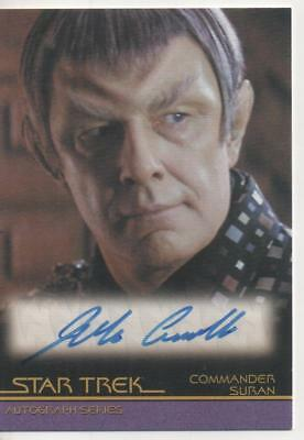 "Star Trek Movies Auto Trading Card No.A112 Jude Ciccolella ""Commander Suran"""