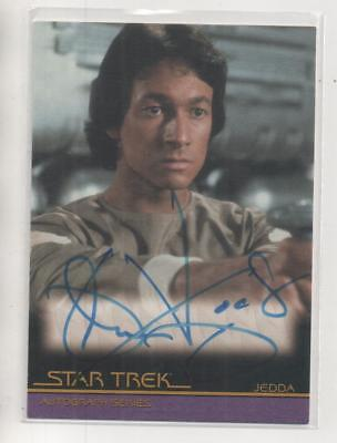 "Star Trek Movies Auto Trading Card No.A84 John Vargas ""Jedda"""