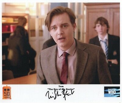 "Doctor Who Auto Photo Print Tristan Beint ""Tom"""