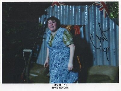 "Doctor Who Auto Photo Print Cheryl Fergison ""Mrs Lloyd"""