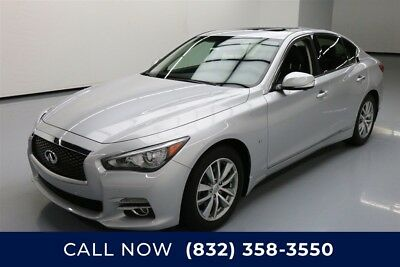 Infiniti Q50 Premium Texas Direct Auto 2015 Premium Used 3.7L V6 24V Automatic AWD Sedan