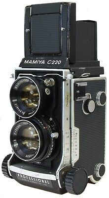 MAMIYA C220 + 80mm 2.8 - New Seals -