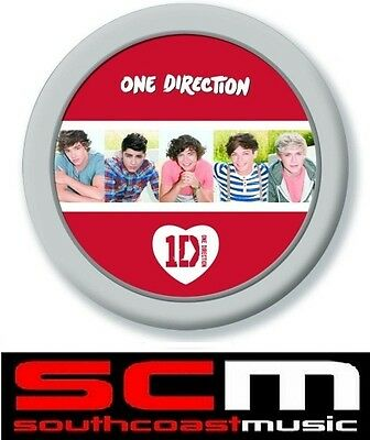 ONE DIRECTION 1D OFFICIAL MERCHANDISE COMPACT MIRROR 5 HEAD SHOTS LOGO BRAND NeW