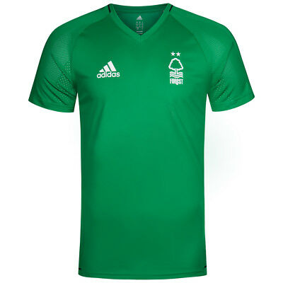 Nottingham Forest FC adidas Herren Fußball Shirt Fan Trainingsshirt BQ2803 neu
