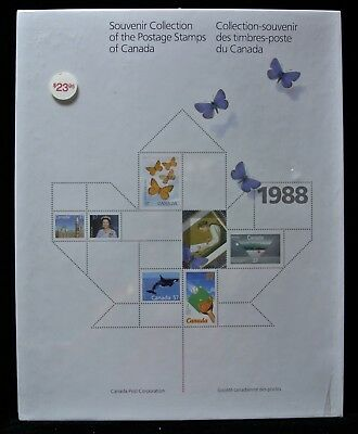 1988 SOUVENIR COLLECTION OF THE POSTAGE STAMPS OF CANADA  - FV $17.76 Sealed #31