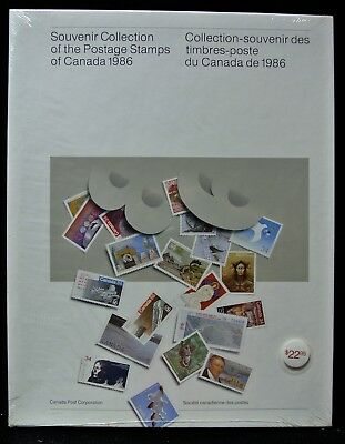 1986 SOUVENIR COLLECTION OF THE POSTAGE STAMPS OF CANADA  - FV $19.38 Sealed #29