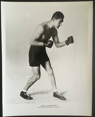Superb Photograph Of The Great Heavyweight Champion Max Schmeling In Pose!!