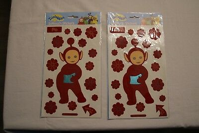 """2 Packungen Softouch Stickers  Teletubbies  Motiv """"Po"""""""