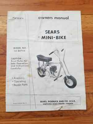 VINTAGE ORIGINAL SURVIVOR 1960\'S Rupp Mini Bike Seat Roadster ...