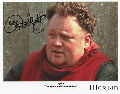 "MERLIN Auto Photo Print Mike Goodenough ""Fyren"""