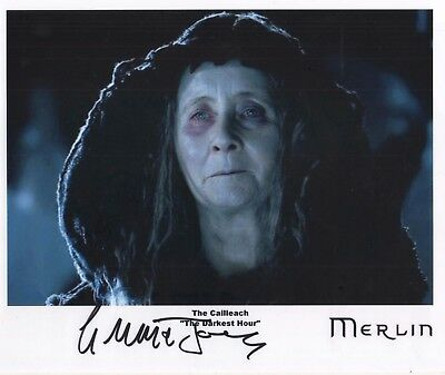 "MERLIN Auto Photo Print Gemma Jones ""The Cailleach"""