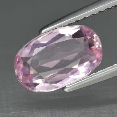 VS 1.95ct 9.8x6.2mm Oval Natural Untreated Light Pink Kunzite