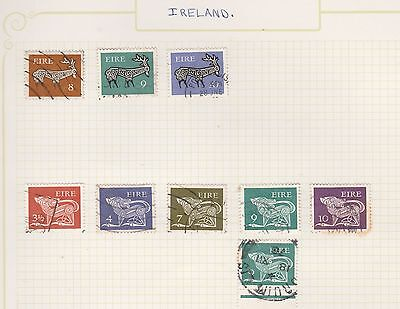 IRELAND COLLECTION Deer, etc on Old Book Pages,as per scan #