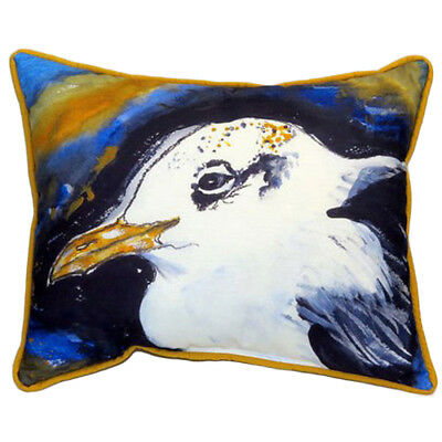 Betsy Drake Gull Portrait Extra Large 20 X 24 Indoor / Outdoor Pillow