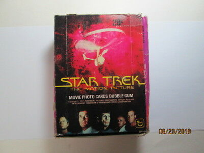 1979 Star Trek; The Motion Picture - Box