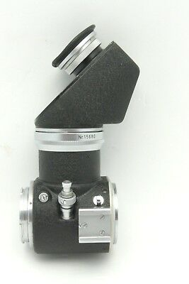 Leica Leitz Visoflex 1 and PEGOO 45 degree Viewer w/ Dbl. Cable Release OZWTO-M