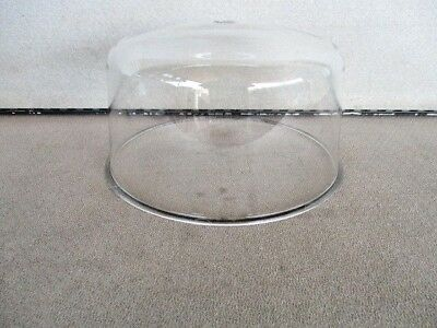 Federal Signal 184 Dietz 211 711 Clear Beacon Light Rotating Revolving Dome