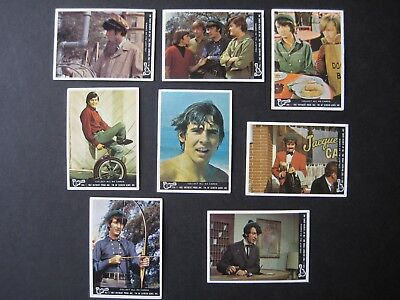 1967 Scanlens The Monkees Cards_Lot 8 Cards