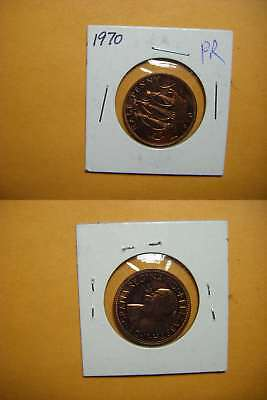3319 GB 1970 1/2 Penny Proof
