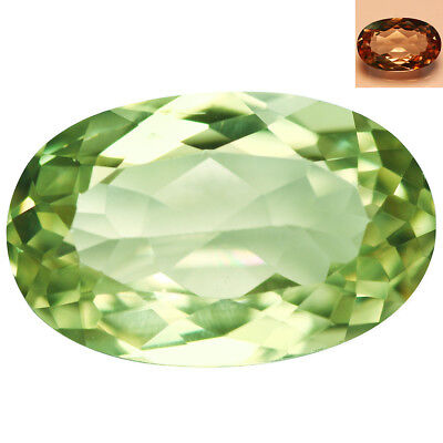 3.67Ct IF Romantic Oval Cut 12 x 8 mm AAA Color Change Turkish Diaspore