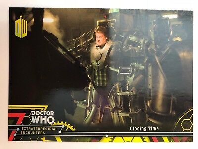 2016 Doctor Who Extraterrestrial Encounters #86 Closing Time YELLOW NrMint-Mint