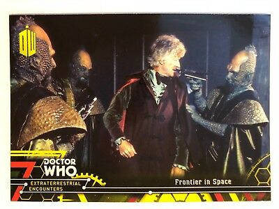 2016 Doctor Who Extraterrestrial Encounters #57 Frontier in Space YELLOW
