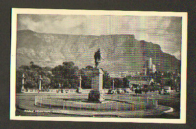 CAPE TOWN (AFRIQUE du SUD) MONUMENT , TABLE MOUNTAIN vers 1930
