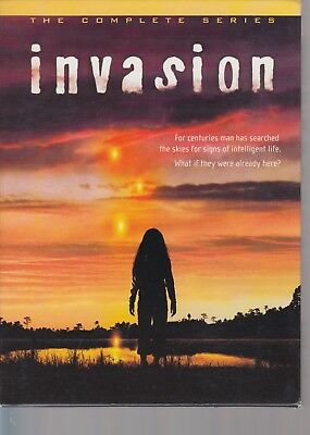 Invasion  The Complete Series  6 DVD Box Set.