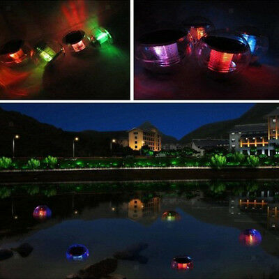 LED Light Solar Power Swimming Pool Automatical Color Light Floating Ball #1