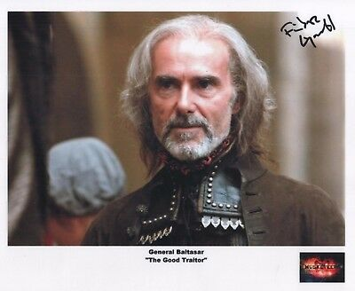"The Musketeers Auto Photo Print Finbar Lynch ""General Baltasar"""