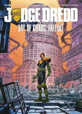 2000AD ft JUDGE DREDD - DAY OF CHAOS - FALLOUT - GRAPHIC NOVEL - EXCELLENT