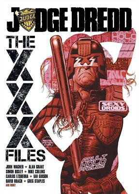 2000AD ft JUDGE DREDD - THE XXX FILES - GRAPHIC NOVEL - EXCELLENT CONDITION OOP