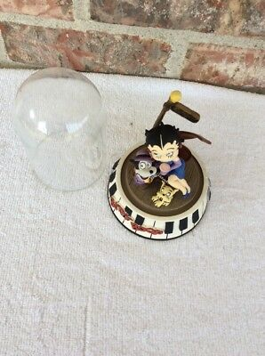 Betty Boop Bourbon Street Hand Painted Limited Edition 1995 Figurine Glass Dome
