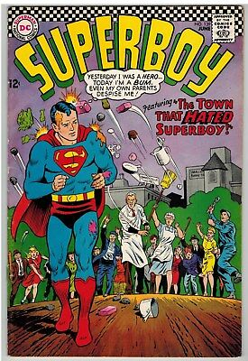 Superboy #139 1967 Dc Silver Age Nice!