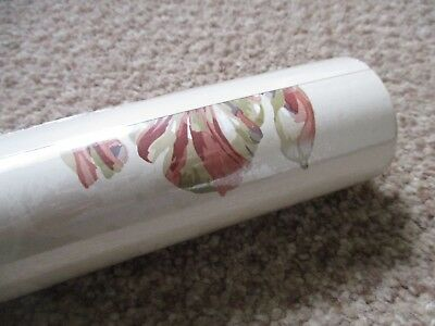 Laura Ashley Gosford Paprika One Un-opened New Roll Of Wallpaper 10m X 53 cms .