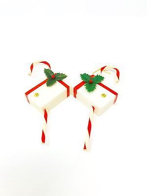 Present with Candy Cane Ornaments