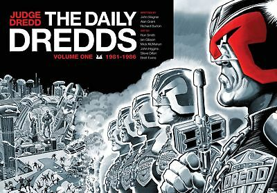 2000AD ft JUDGE DREDD: THE DAILY DREDDS (DAILY STAR STRIPS) Vol 1 - EXCELLENT