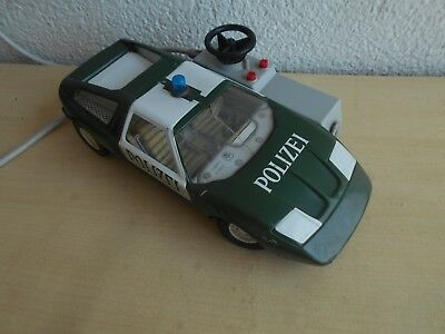 Blechspielzeug: Polizeiauto Joustra Made in France.