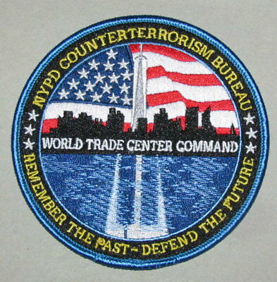 New York State City Police Counter Terrorism World Trade Center Patch NYPD