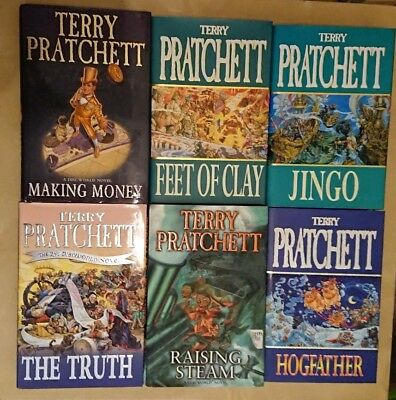 Bundle Of 15 Terry Pratchett Discworld Hardback Books - Joblot