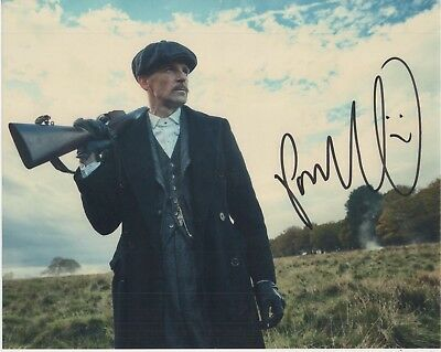 """Peaky Blinders Auto Photograph Paul Anderson """"Arthur Shelby"""""""